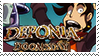 Deponia Doomsday Stamp by b0untyhunters