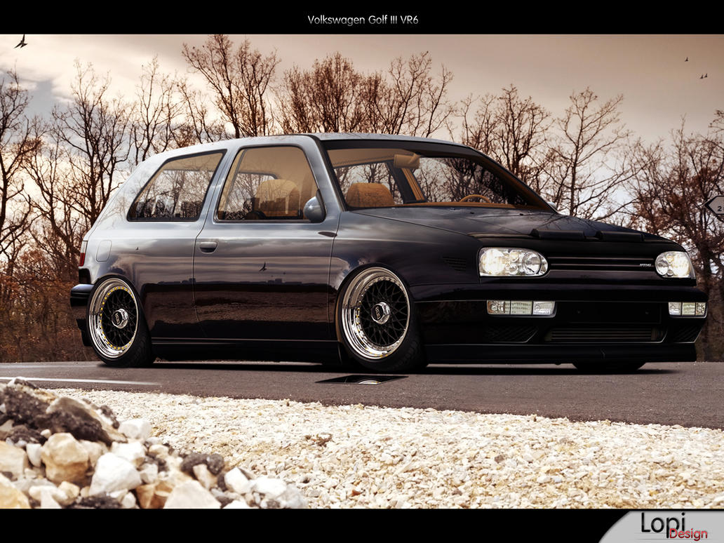 vw golf iii vr6 by lopi 42 on deviantart. Black Bedroom Furniture Sets. Home Design Ideas