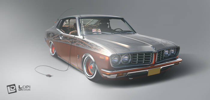1975 Toyota Corona Mk II/Lowrider