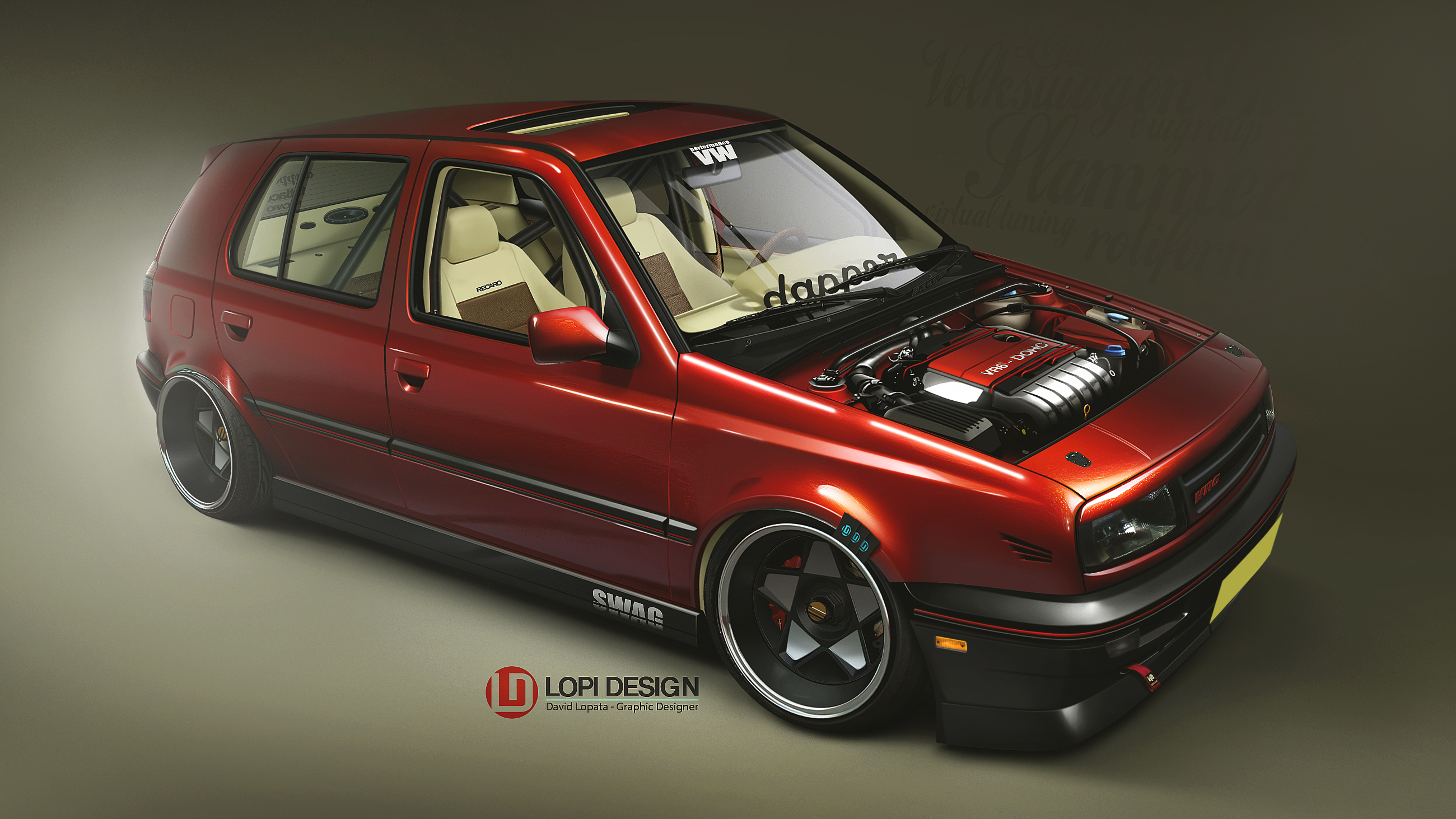 VW Golf MKIII dapper by Lopi-42 on DeviantArt Golf With Friends Free Download