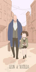Leon And Matilda by kicky