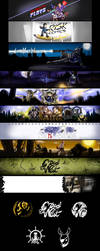 Banners and Icons by kicky