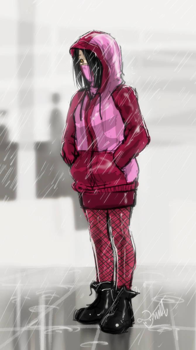 Mileena in the Rain 2