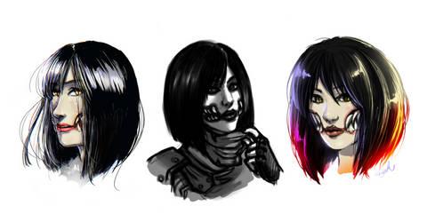 MK: Mileena Portraits
