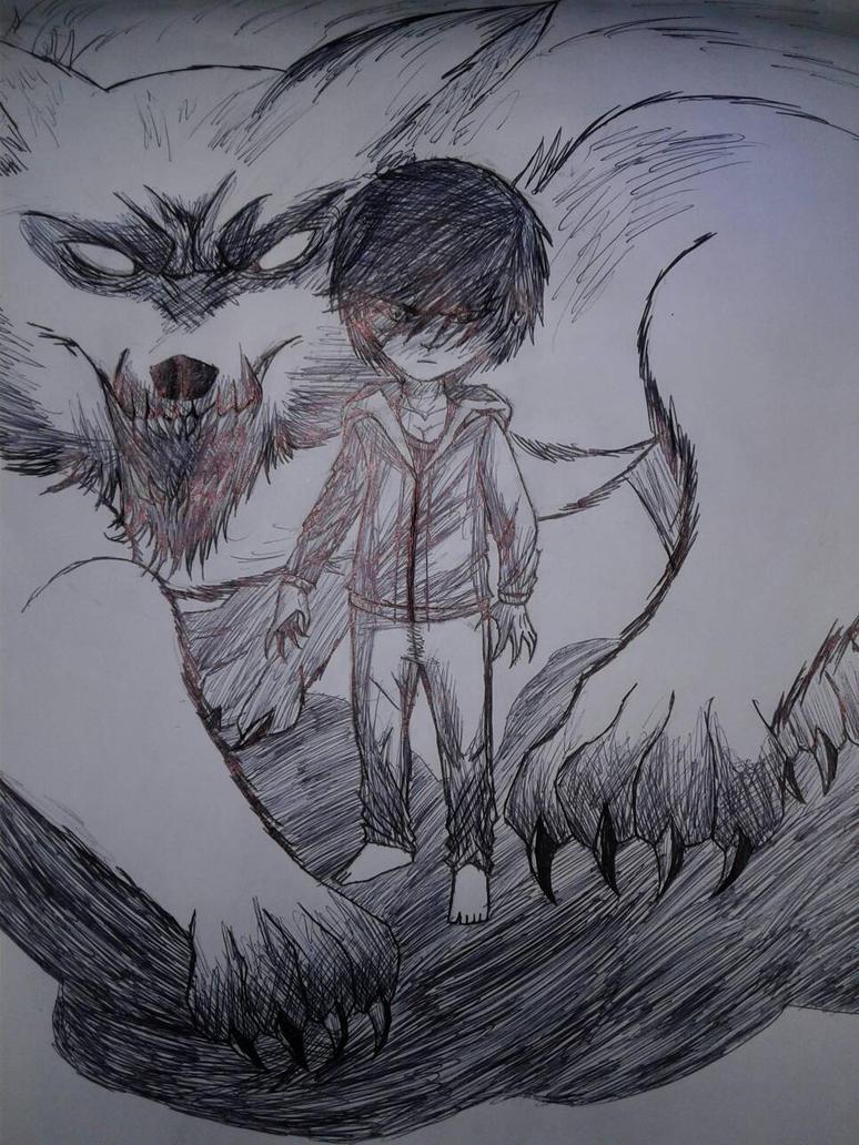 Big Wolf by 99999BlackWolf99999