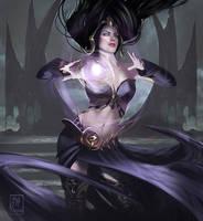 Liliana of the veil fanart by MaximeChiasson