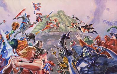 Battle for Eternia by MaximeChiasson