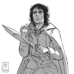 Frodo  Baggins by MaximeChiasson