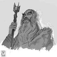 Saruman by MaximeChiasson