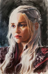 Daenerys Targarien by MaximeChiasson