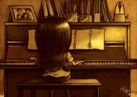My piano by yilin-tan