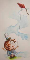 Kite play by massamitsu