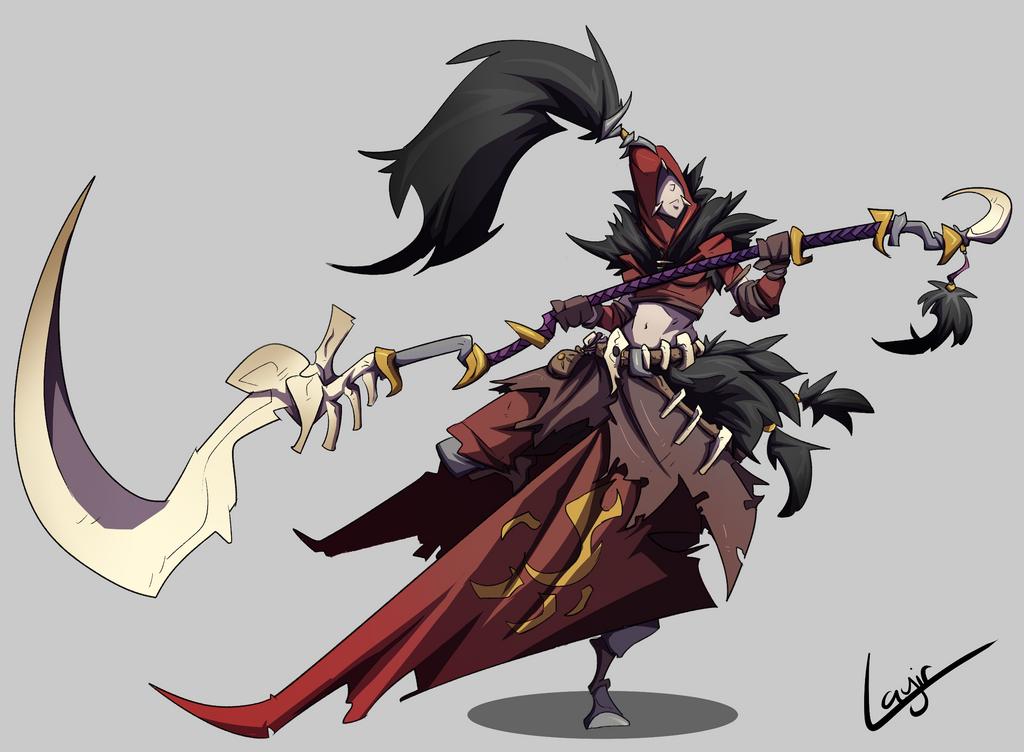 Lodge Dire Huntress by Layir
