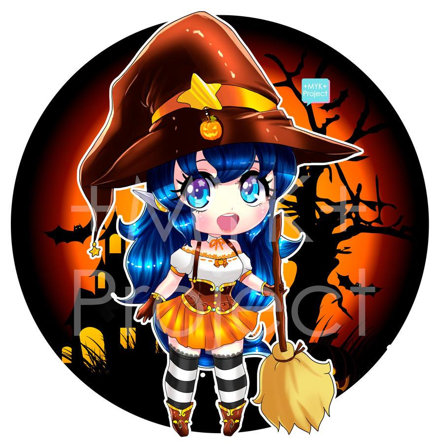 +Chibi mascota brujita 1 - sora anime store+ by MYKProject