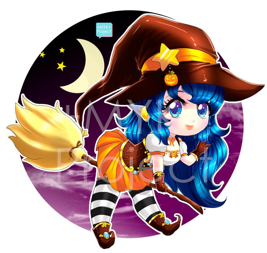 +Chibi mascota brujita 2 - sora anime store+ by MYKProject