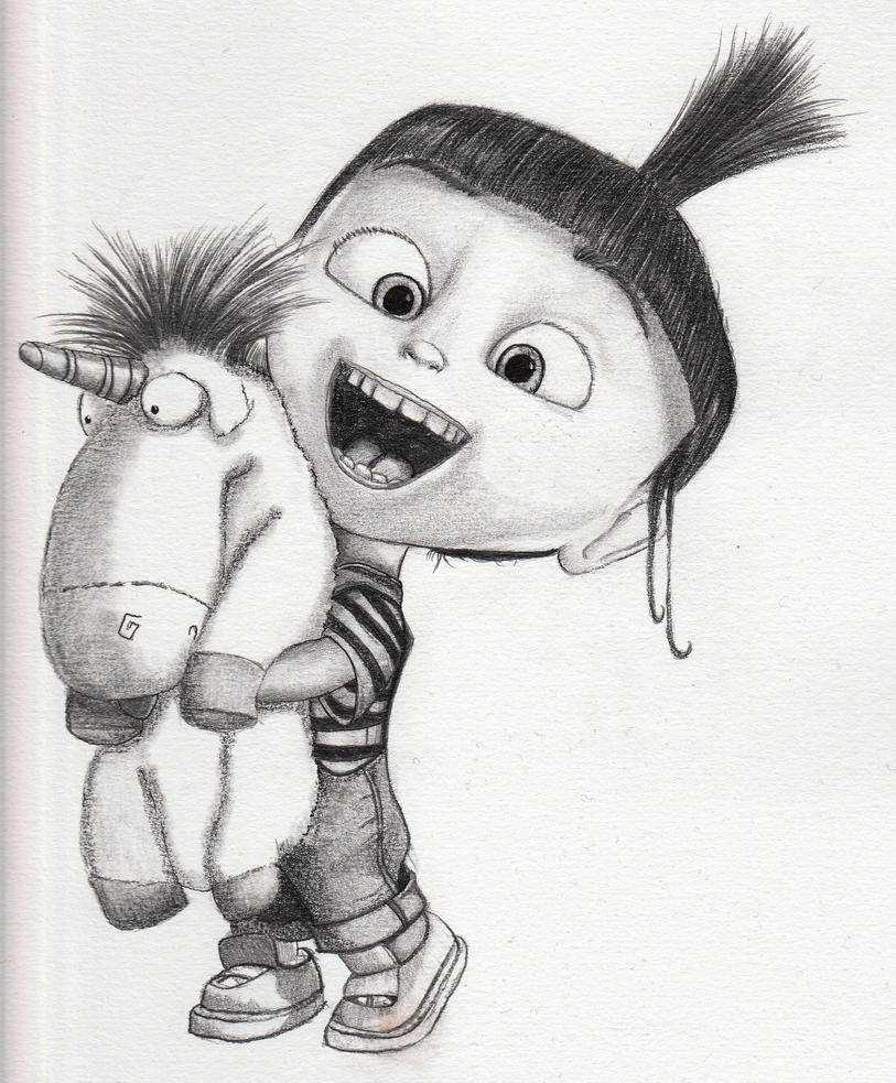 Agnes Despicable me by Le-Chameau-En-Sable on DeviantArt