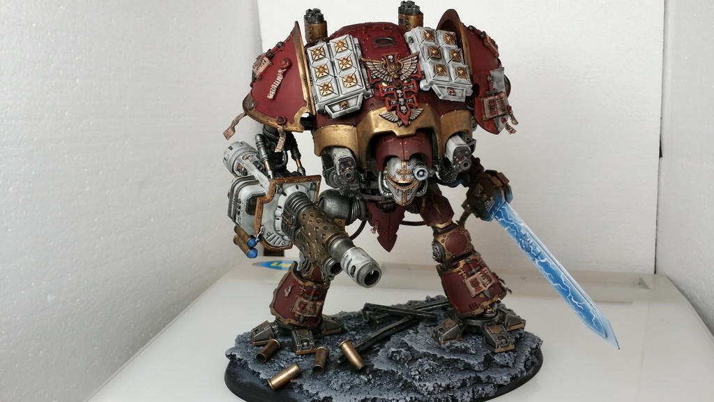 Grey Knight Imperial Knight Titan Conversion By