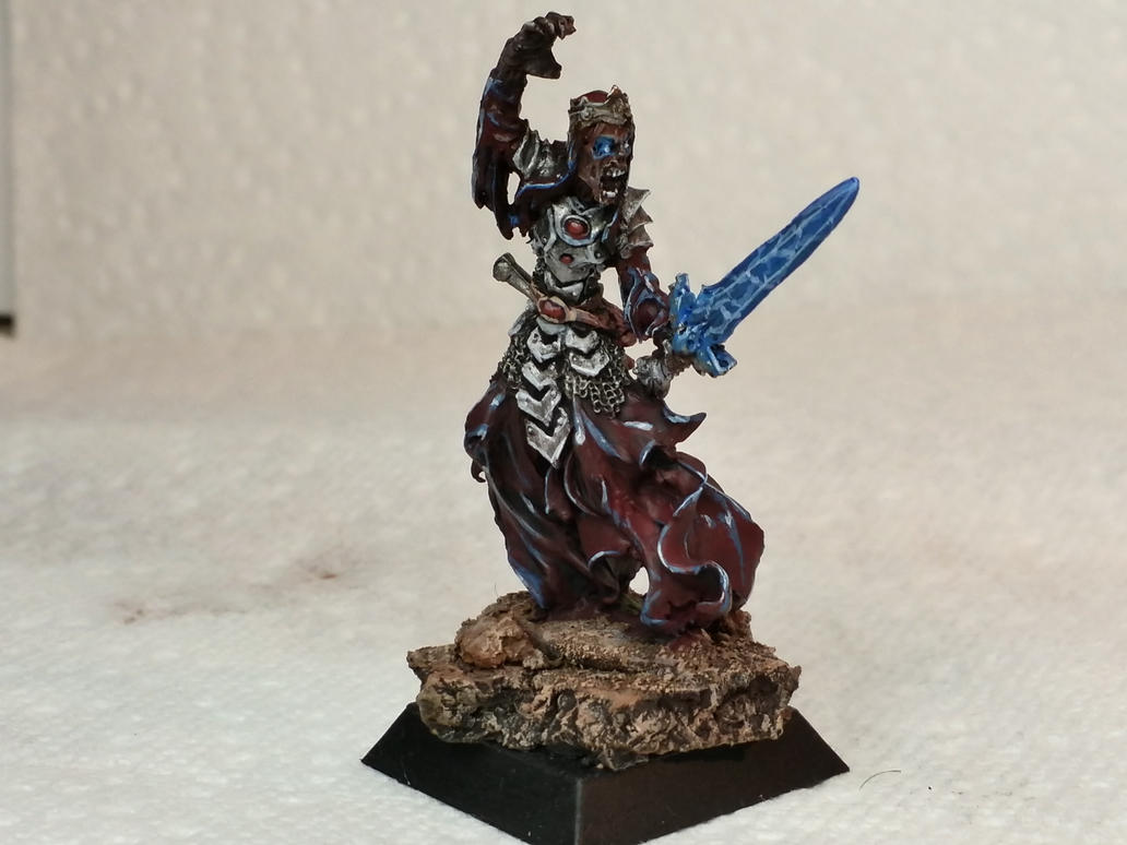 Lich lord figure by Hellblade87