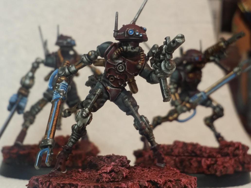 Adeptus Mechanicus Infiltrators by Hellblade87