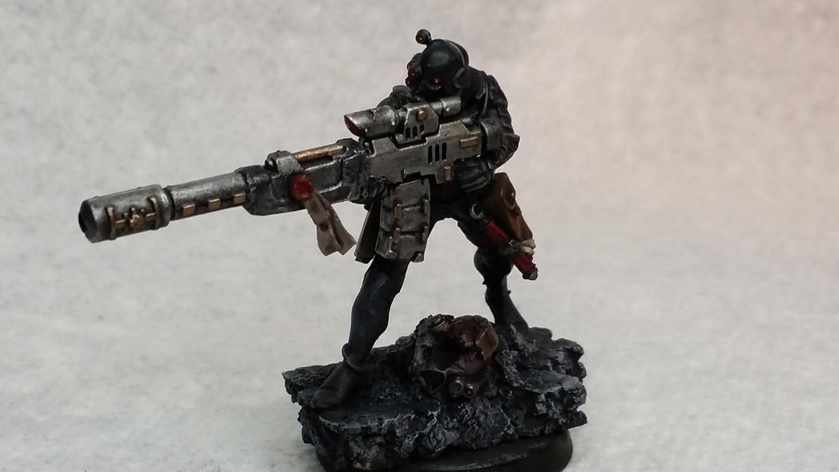 Vindicare Assassin by Hellblade87