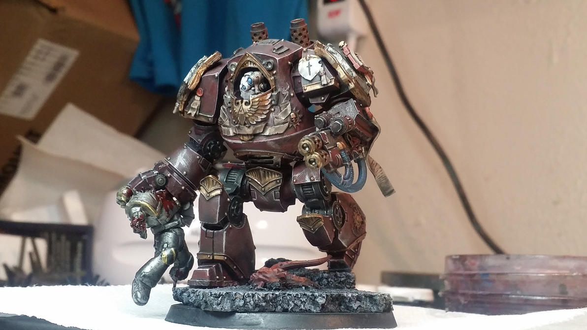 Grey knight contemptor dreadnought pic #2 by Hellblade87