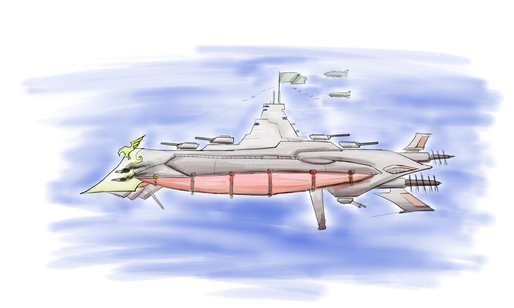 Airship by Hellblade87