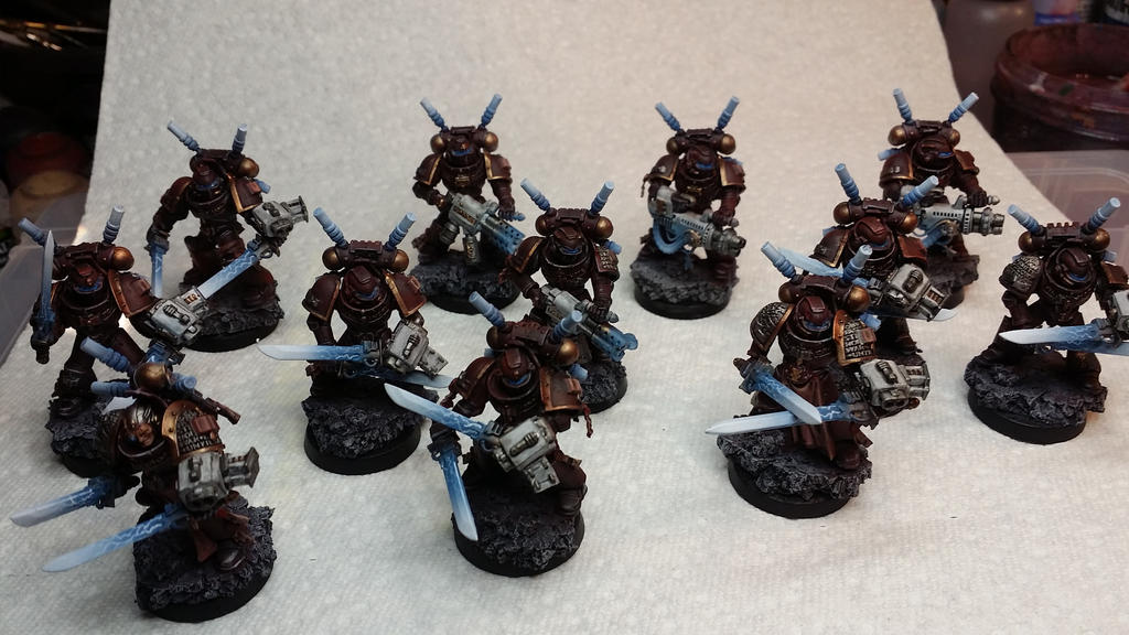 Grey Knights Interceptors by Hellblade87