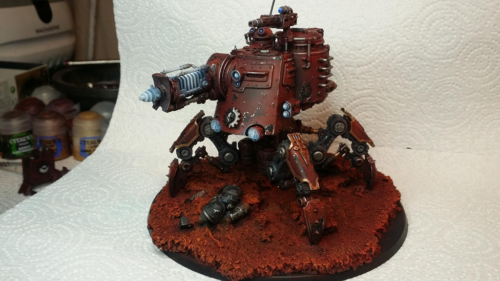 Skitarii Dune Crawler fully magnetized by Hellblade87