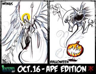 SketchBomb October 2010 by RedGrimRune