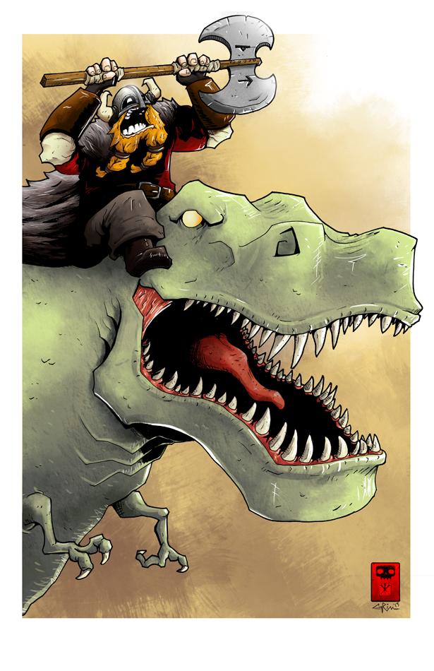 Rex Cavalry by RedGrimRune