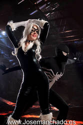 BlackCat and Spiderman