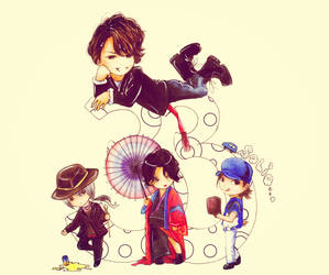 So different Kame by Mizuho-sensei