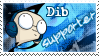 Dib Supporter Stamp