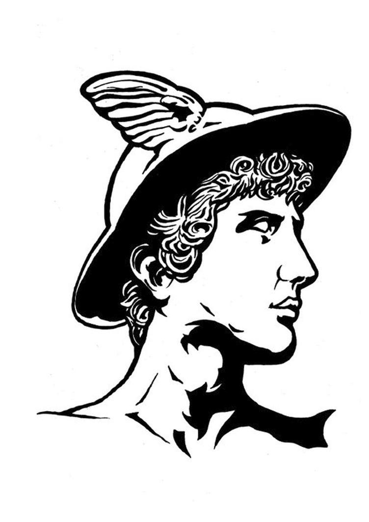 Hermes Mercurio Trimegistus by Hoor418