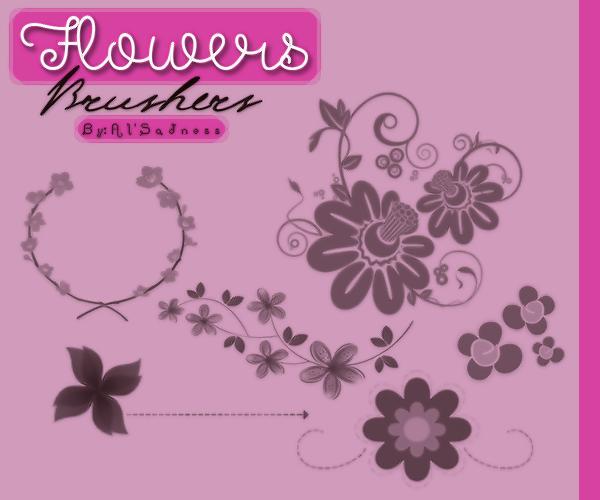 -Flowers-Brusher-By:AlSadness by BySadnessAl