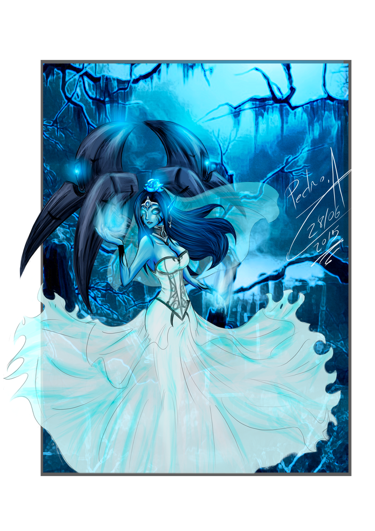 Morgana Ghost Bride by Pedrokys000 on DeviantArt