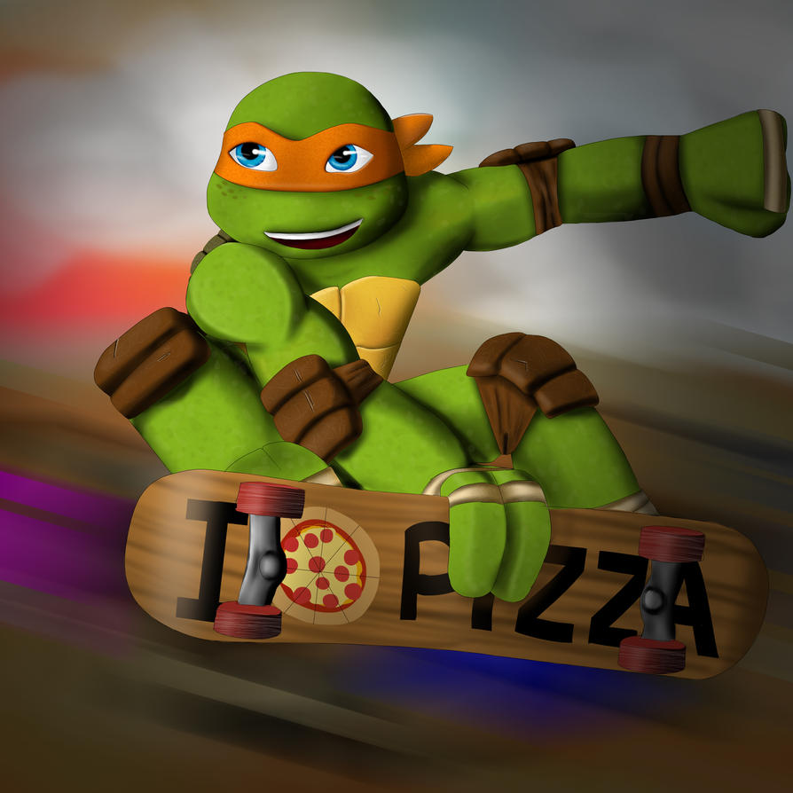 TMNT Michelangelo By Zuleora On DeviantArt