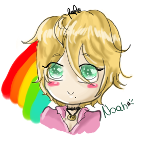 Mr rainbow Noah by Winds-of-the-night