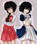 The librarian and The doctor(Misao and Mad Father)