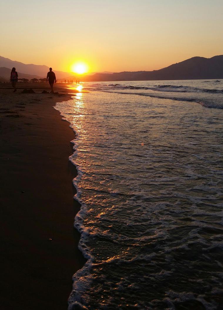 Kreta - a magical sundown by cactusmumkate