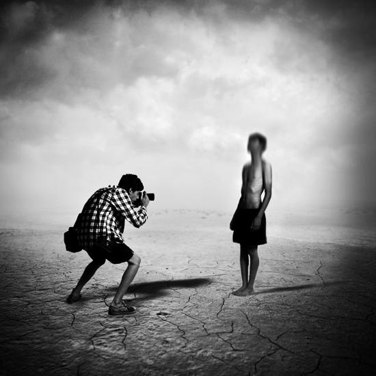 Story of a self-portrait by navidsanati