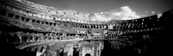 The Colosseum Panorama by navidsanati