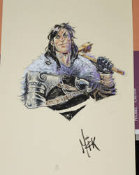 Bren Lucca comics sketch 2