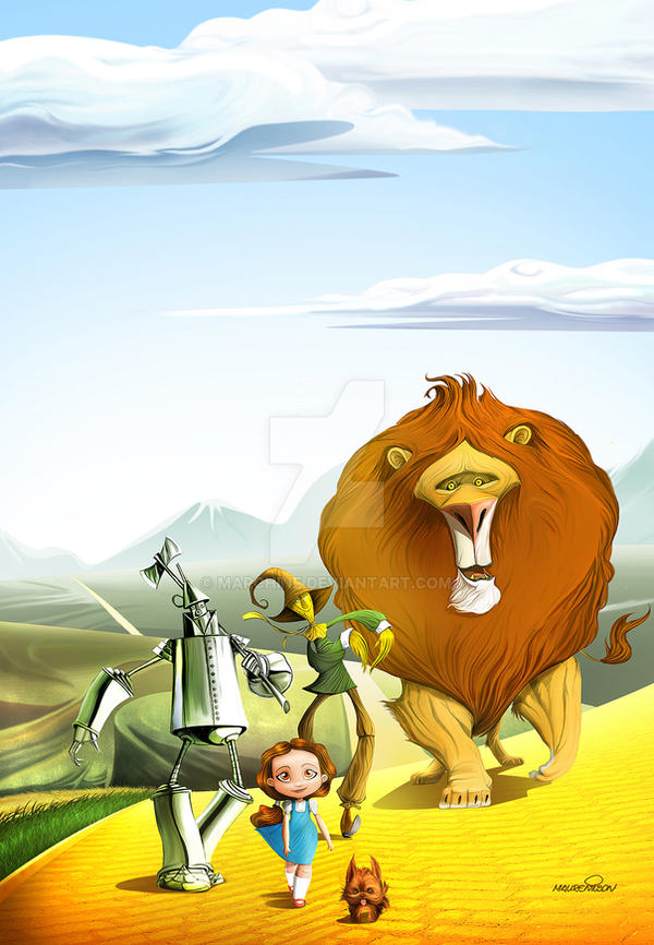 Wizard Of OZ by marchine