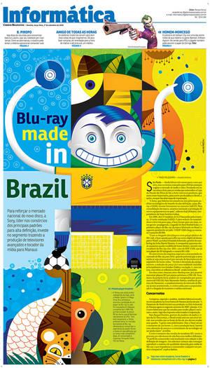 Blu Ray Made in Brazil