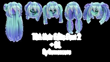 TDA Hair Edits Part 2 + DL
