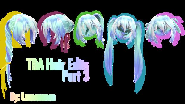 TDA Hair Edits 3 + DL