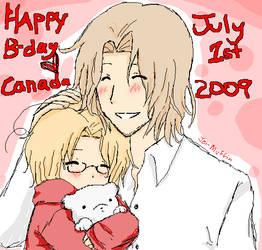 Happy Birthday, Canada. by Jei-Muffin