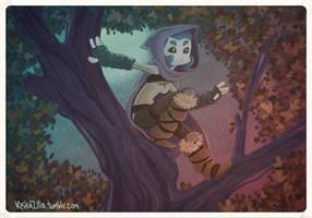 in the tree tops by kiska242