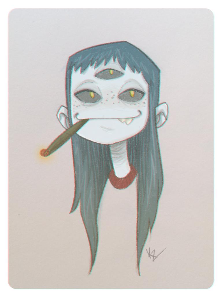 3 eye Monsta by kiska242